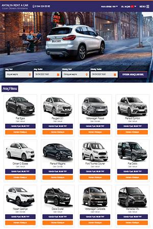 rent a car sitesi fiyatı